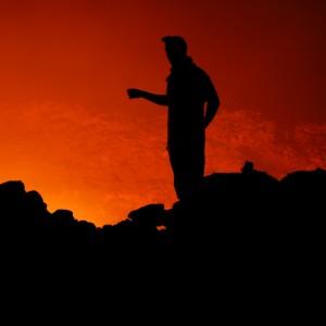 Erta ale ethiopia volcano