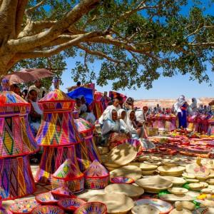 Axum market tigrai ethiopia tour