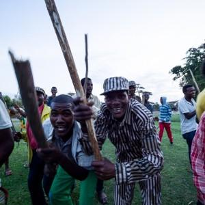 Stick dance oromo