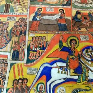 Bahr DAr painting tana lake etiopia