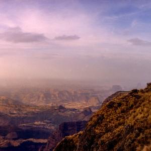 ethiopia highland landscape lalibela
