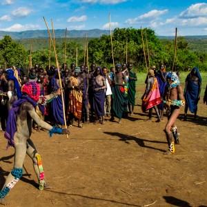 Surma Etiopia Donga