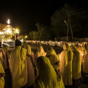 cerimonia notturna etiopia axum