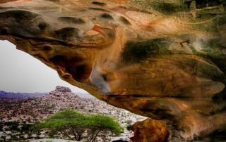 Las Geel rock paint somaliland