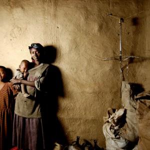 Etiopia oromo village