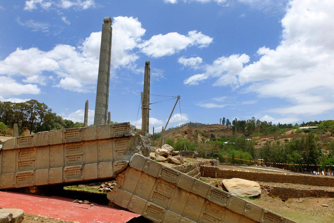 Stelae Aksum ethiopia