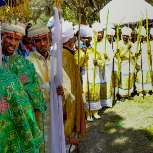 Axum ethiopia hosaina cerimony