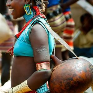 Etiopia hamer tribe market