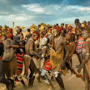 ETHIOPIA KARA TRIBE CELEBRATION