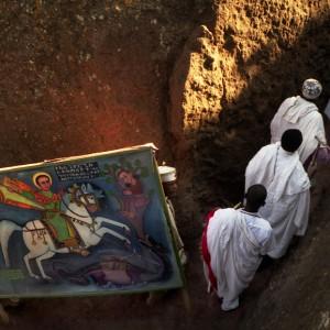 lalibela saint george ethiopia procession
