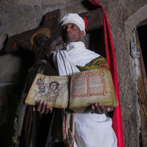Lalibela priest orthodox ethiopia