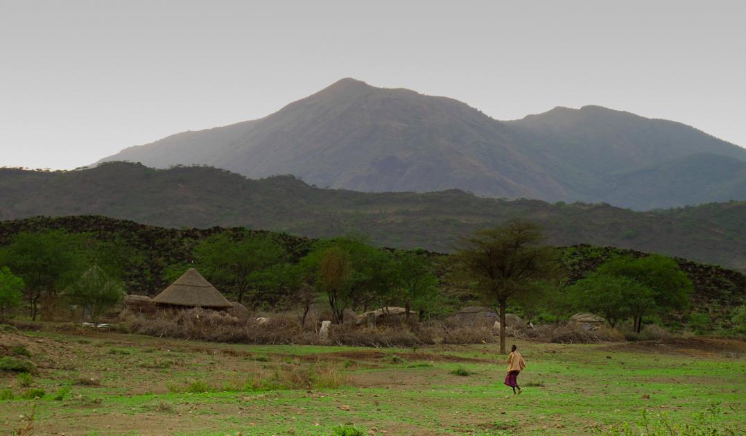 Fanta Ale volcano Awash Ethiopia