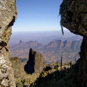 simien national park chenek ethiopia