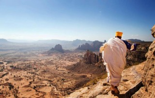 Tigrai, on the path to Rock hewn churches.© Philip Lee Harvey / Lonely Planet