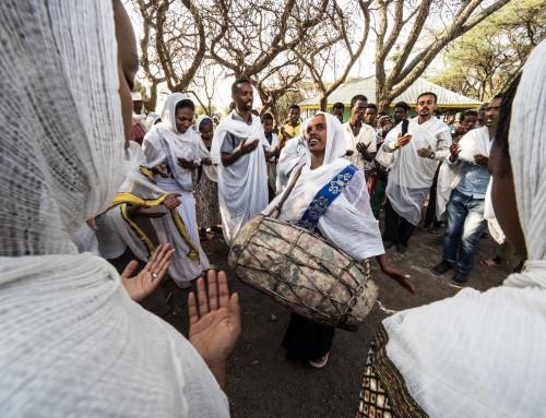 Praying Addis