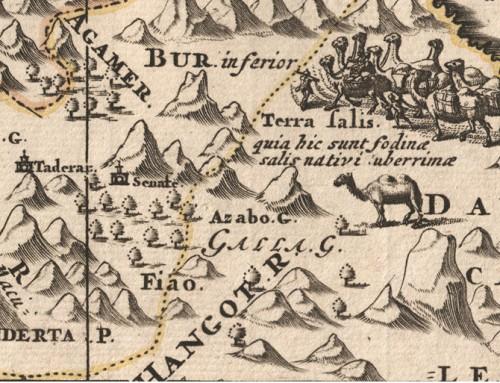Cartografie d'Etiopia